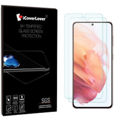 iCoverLover [2-Pack] Samsung Galaxy S21/S21+ Plus Tempered Glass Screen Protector