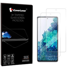 iCoverLover Samsung Galaxy S20 FE Tempered Glass Screen Protector, 2-Pack | Mobile Accessories | iCoverLover Australia