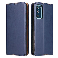 Samsung Galaxy S20 FE Case, Wallet PU Leather Flip Protective Folio Cover, Stand, Blue | Mobile Accessories | iCoverLover Australia