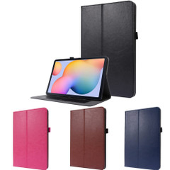 Samsung Galaxy Tab S7 (2020)(SM-870) Case, Folio PU Leather Wallet Cover, 2-fold Stand & Card Slots   icoverlover.com.au   Tablet Cases
