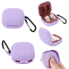 Samsung Galaxy Buds Live / Galaxy Buds Pro Case, Silicone Protective Case, Hook   icoverlover.com.au   Buds Cases