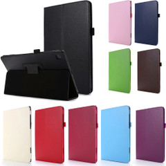 Samsung Galaxy Tab A7 10.4 2020 (T500) Case, Folio Solid Colour PU Leather Cover, Stand | icoverlover.com.au | Tablet Cases