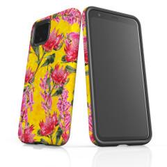 Google Pixel 5/4a 5G,4a,4 XL,4/3XL,3 Case, Tough Protective Back Cover, Floral Down Under   iCoverLover Australia