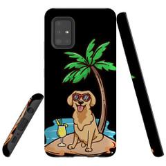 Samsung Galaxy A51 5G/4G, A71 5G/4G, A90 5G Case Tough Protective Cover Cool Dog