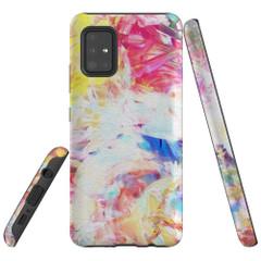 Samsung Galaxy A51 5G/4G, A71 5G/4G, A90 5G Case Tough Protective Cover Abstract