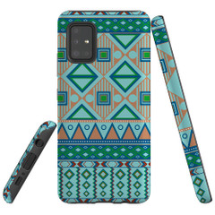 Samsung Galaxy A51 5G/4G, A71 5G/4G, A90 5G Case Tough Protective Cover Bohemian Pattern
