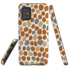 Samsung Galaxy A51 5G/4G, A71 5G/4G, A90 5G Case Tough Protective Cover Abstract Spots