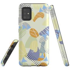 Samsung Galaxy A51 5G/4G, A71 5G/4G, A90 5G Case Tough Protective Cover Abstract Way