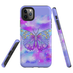 Protective iPhone Case, Tough Back Cover, Enchanted Butterfly | iCoverLover Australia