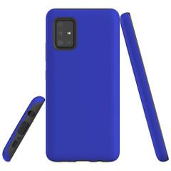 Samsung Galaxy A51 5G/4G, A71 5G/4G or A90 5G Case, Tough Protective Cover, Blue | iCoverLover Australia