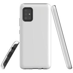 Samsung Galaxy A51 5G/4G, A71 5G/4G or A90 5G Case, Tough Protective Cover, White   iCoverLover Australia