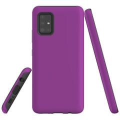 Samsung Galaxy A51 5G/4G, A71 5G/4G or A90 5G Case, Tough Protective Cover, Purple | iCoverLover Australia