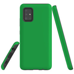 Samsung Galaxy A51 5G/4G, A71 5G/4G or A90 5G Case, Tough Protective Cover, Green | iCoverLover Australia