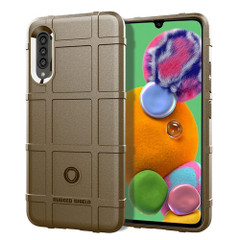 For Galaxy A90 5G Protective Armour TPU Case, Brown | iCoverLover.com.au | Samsung Galaxy A Cases