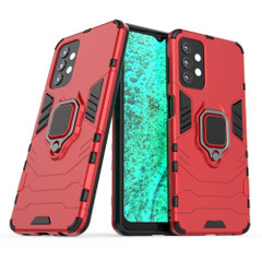 For Samsung Galaxy A32, A52 or A71 4G Armour Case, Ring Holder/Stand, Red | iCoverLover.com.au | Samsung Galaxy A Cases