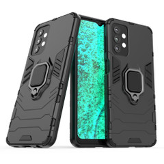 For Samsung Galaxy A32, A52 or A71 4G Armour Case, Ring Holder/Stand, Black | iCoverLover.com.au | Samsung Galaxy A Cases