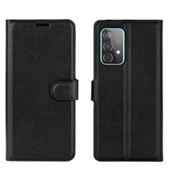 For Samsung Galaxy A52, A72, A90 5G, A71, A32 Case, PU Leather Wallet Cover, Stand, Black| iCoverLover.com.au | Samsung Galaxy A Cases