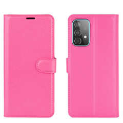 For Samsung Galaxy A52, A72, A90 5G, A71, A32 Case, PU Leather Wallet Cover, Stand, Rose Red| iCoverLover.com.au | Samsung Galaxy A Cases