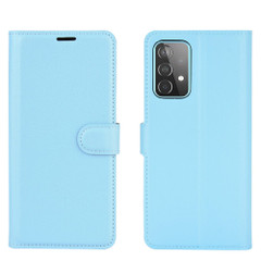 For Samsung Galaxy A52, A72, A90 5G, A71, A32 Case, PU Leather Wallet Cover, Stand, Blue| iCoverLover.com.au | Samsung Galaxy A Cases