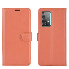 For Samsung Galaxy A52, A72, A90 5G, A71, A32 Case, PU Leather Wallet Cover, Stand, Brown| iCoverLover.com.au | Samsung Galaxy A Cases