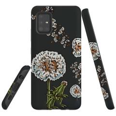 For Samsung Galaxy A51 5G/4G, A71 5G/4G, A90 5G Case, Tough Protective Back Cover, Dandelion Flowers | Protective Cases | iCoverLover.com.au