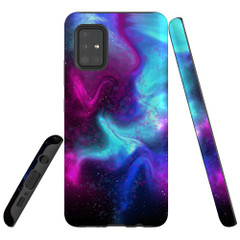 For Samsung Galaxy A51 5G/4G, A71 5G/4G, A90 5G Case, Tough Protective Back Cover, Abstract Galaxy | Protective Cases | iCoverLover.com.au