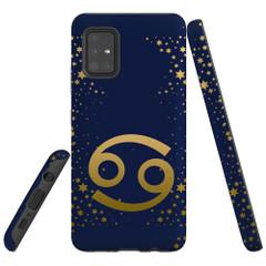 For Samsung Galaxy A51 5G/4G, A71 5G/4G, A90 5G Case, Tough Protective Back Cover, Cancer Sign | Protective Cases | iCoverLover.com.au