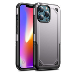 For iPhone 13 Pro Max, 13, 13 Pro, 13 mini Case, Armour Shockproof Rugged Protective Cover, Grey | Plastic Cases | iCoverLover.com.au