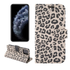 For iPhone 13 Pro Max, 13, 13 Pro, 13 mini Case, Leopard Print Wallet Cover, Brown | PU Leather Cases | iCoverLover.com.au