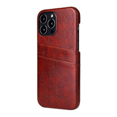 iPhone 13 Pro Max, 13, 13 Pro, 13 mini Case, Deluxe PU Leather Wallet Cover, Brown | iCoverLover Australia