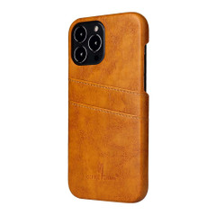iPhone 13 Pro Max, 13, 13 Pro, 13 mini Case, Deluxe PU Leather Wallet Cover, Yellow | iCoverLover Australia
