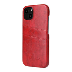 iPhone 13 Pro Max, 13, 13 Pro, 13 mini Case, Deluxe PU Leather Wallet Cover, Red | iCoverLover Australia