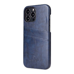 iPhone 13 Pro Max, 13, 13 Pro, 13 mini Case, Deluxe PU Leather Wallet Cover, Blue | iCoverLover Australia