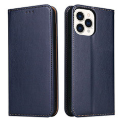iPhone 13 Pro Max, 13, 13 Pro, 13 mini Case, PU Leather Protective Wallet Cover in Blue | iCoverLover Australia
