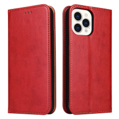 iPhone 13 Pro Max, 13, 13 Pro, 13 mini Case, PU Leather Protective Wallet Cover in Red | iCoverLover Australia