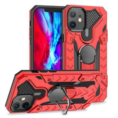 Tough Case For iPhone 13 Pro Max, 13, 13 Pro, 13 mini, Magnetic Ring Holder, Red | iCoverLover Australia
