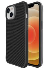 For iPhone 13 Pro Max, 13, 13 Pro, 13 mini Case, Though Carbon Fiber Protective Cover, Black | iCoverLover Australia