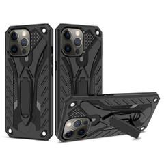 Armour Case For iPhone 13 Pro Max, 13, 13 Pro, 13 mini Case, Kickstand, Black   iCoverLover Australia