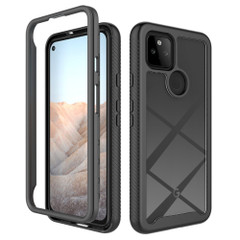 For Google Pixel 5/5a 5G/4a 5G/4a Case, Protective Clear-Back Cover in Black | iCoverLover Australia