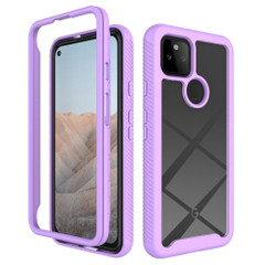 For Google Pixel 5/5a 5G/4a 5G/4a Case, Protective Clear-Back Cover in Purple | iCoverLover Australia