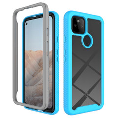 For Google Pixel 5/5a 5G/4a 5G/4a Case, Protective Clear-Back Cover in Sky Blue | iCoverLover Australia