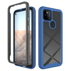 For Google Pixel 5/5a 5G/4a 5G/4a Case, Protective Clear-Back Cover in Royal Blue | iCoverLover Australia