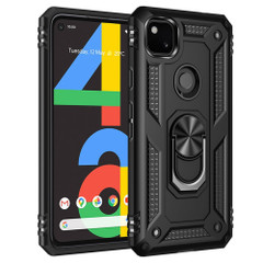 Google Pixel 4a Case, Armour Shockproof TPU + PC Cover, 360° Rotation Holder/Stand | iCoverLover Australia