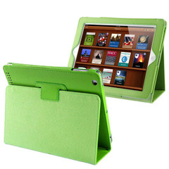 Green Lychee Leather iPad 2, iPad 3 & iPad 4 Case | Leather iPad 2, 3, 4 Cases | Smart iPad 2, 3, 4 Covers | iCoverLover