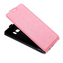 Pink Vertical Flip Samsung Galaxy Note FE Case | Leather Samsung Galaxy Note FE Cases | Leather Samsung Galaxy Note FE Covers | iCoverLover