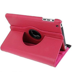 Pink Leather iPad Mini 1, 2, 3 Case | Leather iPad Mini 1 / 2 / 3 Cases | Leather iPad Mini 1 / 2 / 3 Covers | iCoverLover
