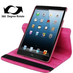 Magenta Leather iPad Mini 1, 2, 3 Case | Leather iPad Mini 1 / 2 / 3 Cases | Leather iPad Mini 1 / 2 / 3 Covers | iCoverLover