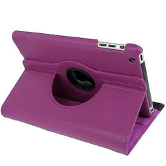 Purple Leather iPad Mini 1, 2, 3 Case | Leather iPad Mini 1 / 2 / 3 Cases | Leather iPad Mini 1 / 2 / 3 Covers | iCoverLover