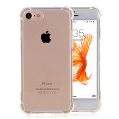 Shockproof Grippy Clear iPhone SE (2020) / 8 / 7 Case   Protective iPhone Cases   Protective iPhone Covers   iCoverLover