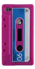 Pink Cassette Tape iPhone 4/4S Case | Cassette iPhone 4 Case | Tape iPhone 4 Cover | iCoverLover